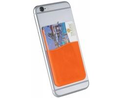 Silikonové pouzdro na kartu DOLO - oranžová