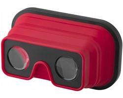 Silikonové skládací brýle pro virtuální realitu HEDITO - červená