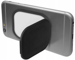 Plastový stojánek a držák telefonu STEN - černá