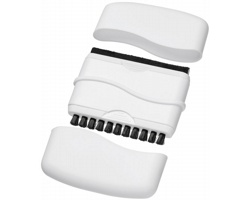 Kartáček na klávesnici a utěrka na monitor NUMIS - bílá