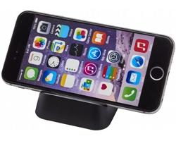 Plastový stojánek na chytrý telefon COBRA - černá