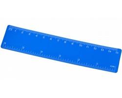 Flexibilní pravítko UNPLU, 15 cm - modrá
