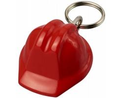Plastový přívěsek RICHWOOD ve tvaru bezpečnostní helmy - červená
