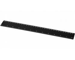 Plastové pravítko FLETCHER, 30 cm - černá