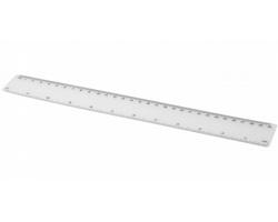 Plastové flexibilní pravítko VIED, délka 30 cm - transparentní