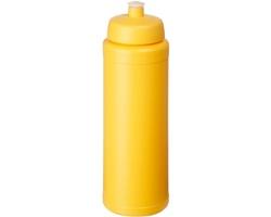 Plastová sportovní lahev BEES s pítkem, 750 ml - žlutá