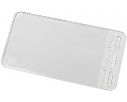 Plastové pouzdro OCHER na jmenovku - transparentní čirá