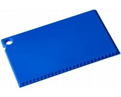 Škrabka na led MERE o velikosti platební karty - modrá