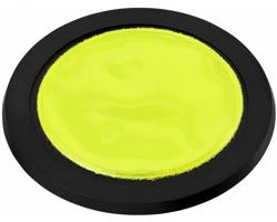 Plastová reflexní odrazka na kolo SERB - žlutá