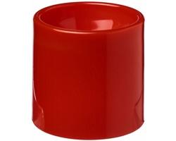 Plastový šálek WHOM na servírování vajec - červená
