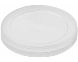 Plastové víčko na plechovku MOLDS - transparentní čirá
