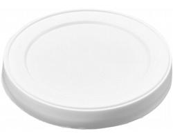 Plastové víčko na plechovku MOLDS - bílá
