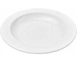 Plastový talíř SHOVE - bílá