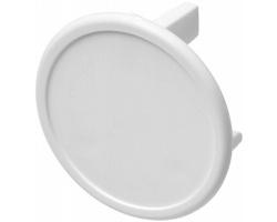 Plastová bezpečnostní záslepka CHUM pro britské zásuvky - bílá