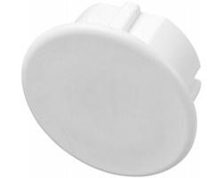 Plastová záslepka pro evropské zásuvky SLUES - bílá
