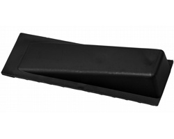 Plastová dveřní zarážka CAMERON - černá