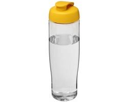 Sportovní lahev ELEGY s vyklápěcím pítkem, 700 ml - transparentní / žlutá