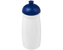 Sportovní lahev KUKRI s víčkem proti rozlití, 600 ml - bílá / královská modrá