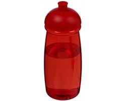 Sportovní lahev KUKRI s víčkem proti rozlití, 600 ml - červená