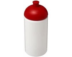 Sportovní lahev ROARS s víčkem proti rozlití, 500 ml - bílá / červená
