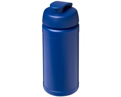 Sportovní lahev PROVE s vyklápěcím víčkem, 500 ml - modrá