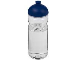 Tritanová sportovní lahev MENDS, 650 ml - transparentní / modrá