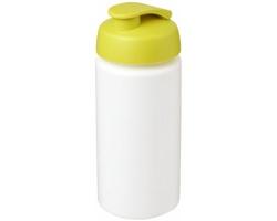 Sportovní lahev CETYL s vyklápěcím víčkem, 500 ml - bílá / jemně zelená