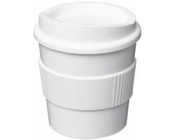 Plastový hrnek Americano Primo TOMEKA, 250 ml - bílá