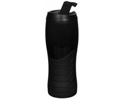 Plastová lahev OFTEN se šroubovacím víčkem, 400 ml - černá