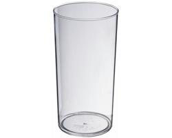 Plastový kelímek EDDY, 284 ml - transparentní čirá