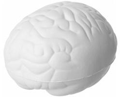 Antistresová pomůcka BRAIN ve tvaru mozku - bílá