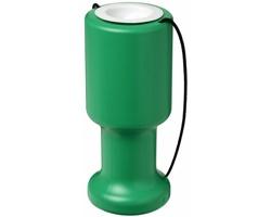 Plastová pokladnička RAWLY pro charitu - zelená