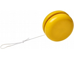 Plastové jojo ALGIN - žlutá