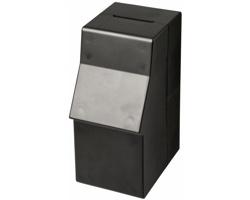 Plastová pokladnička RETE v podobě bankomatu - černá