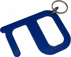 Plastový hygienický klíč VALIER s technologií Biomaster - královská modrá