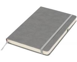 Středně velký zápisník ADEPS s poutkem na pero - šedá