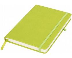 Středně velký zápisník ADEPS s poutkem na propisku - zelená