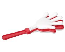 Plastová fandící klapka YORK - červená