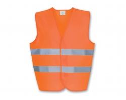 Bezpečnostní vesta IRMA s reflexními pásky - oranžová