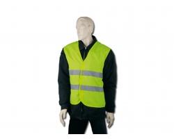 Bezpečnostní vesta IRMA s reflexními pásky - fluorescenční žlutá
