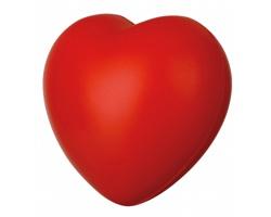 Antistresový míček LOVE ve tvaru srdce - červená