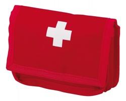 Sada první pomoci EMERY v pouzdru - červená