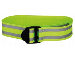 Elastický reflexní pásek FLORIAN - žlutá