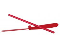 Plastová létající vrtule AIRY - červená