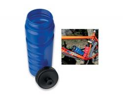 Plastová cyklistická sportovní láhev EVANS, 750 ml - modrá