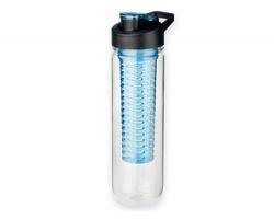 Plastová sportovní láhev s infuzérem na ovoce FRUITER, 900 ml - světle modrá