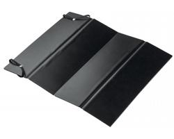 Skládací poduška CUSHION z voděodolného materiálu - černá