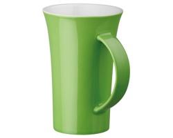 Porcelánový hrnek WALT, 330ml - světle zelená