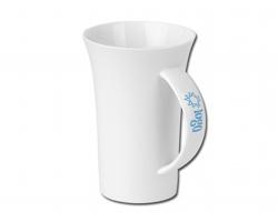 Porcelánový hrnek WALT, 330ml - bílá