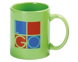Keramický hrnek MUG, 320 ml - světle zelená